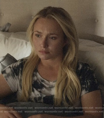 Juliette's tie dye tee on Nashville