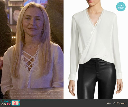 L'Agence Rosario Blouse worn by Hayden Panettiere on Nashville