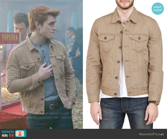 Levi's Trucker Jacket worn by Archie Andrews (K.J. Apa) on Riverdale