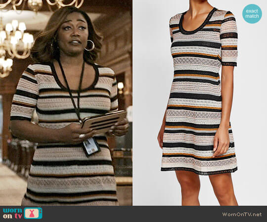M Missoni Knit Dress with Cotton worn by Patina Miller on Madam Secretary
