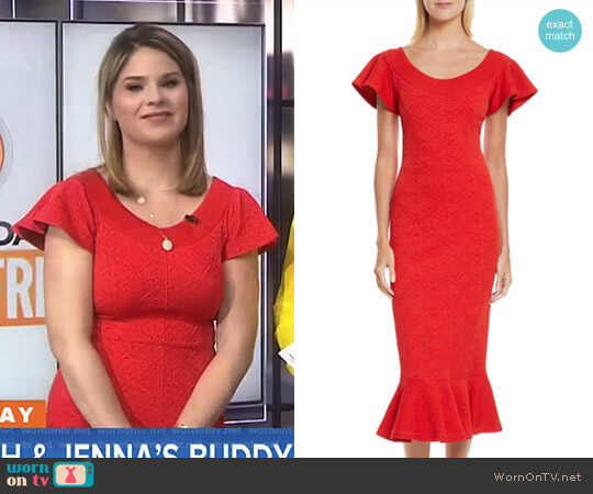 'Lotus' Dress by Opening Ceremony worn by Jenna Bush Hager  on Today