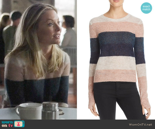 Pam & Gela Striped Sweater worn by Kaitlin Doubleday on Nashville