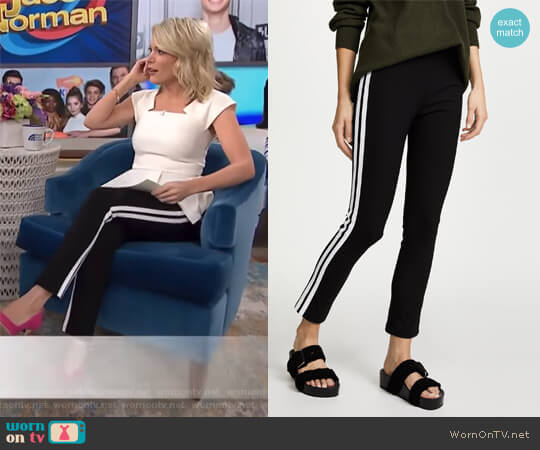 Simone Side Stripe Pants by Rag and Bone worn by Megyn Kelly  on Today