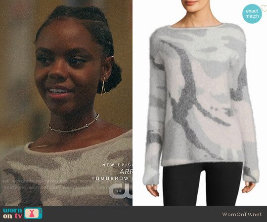 Rag & Bone Sinclair Sweater worn by Josie McCoy (Ashleigh Murray) on Riverdale