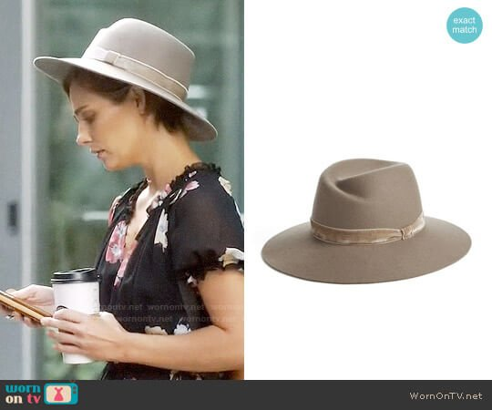 Rag & Bone Zoe Fedora worn by Clare Bowen on Nashville
