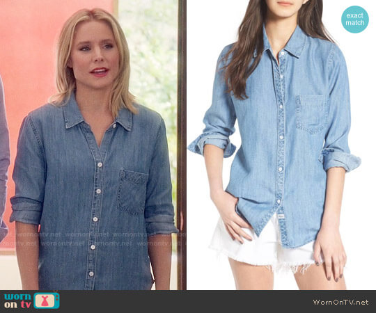 Rails Ingrid Shirt worn by Eleanor Shellstrop (Kristen Bell) on The Good Place