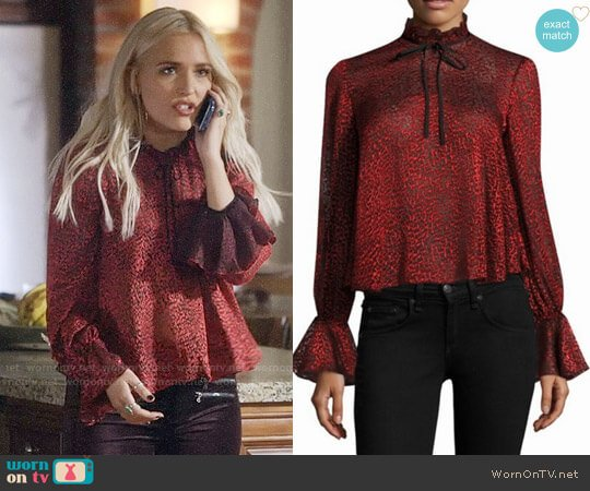 Saloni Tyler Blouse worn by Maddie Jaymes (Lennon Stella) on Nashville
