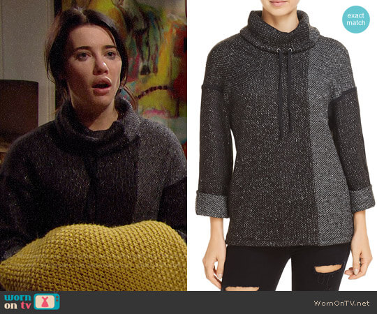 Splendid Morrow Bay Sweater worn by Jacqueline MacInnes Wood on The Bold & the Beautiful