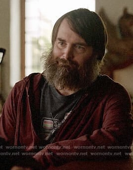 Tandy's TV print t-shirt on Last Man on Earth