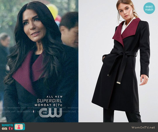 Ted Baker Afina Coat worn by Hermione Lodge (Marisol Nichols) on Riverdale