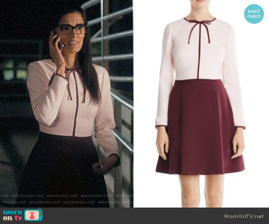 Ted Baker Loozy Dress worn by Krishna (Shelly Bhalla) on Jane the Virgin