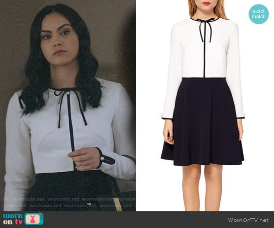 f6d0ca235 Ted Baker Loozy Dress worn by Veronica Lodge (Camila Mendes) on Riverdale