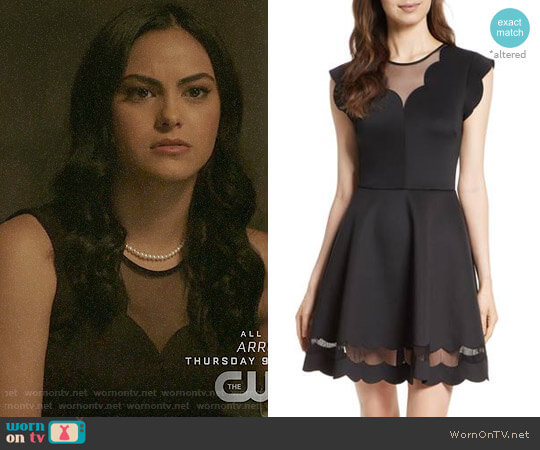 Ted Baker Sharlot Dress worn by Camila Mendes on Riverdale