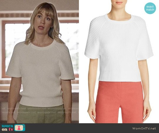 Theory Mayalee Sweater worn by Melissa Shart (January Jones) on Last Man On Earth