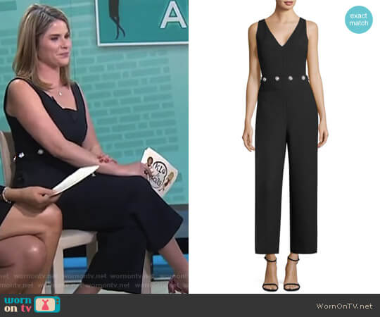 'Fremont' Jumpsuit by Tory Burch worn by Jenna Bush Hager on Today