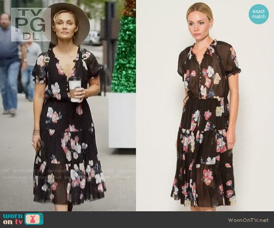 Ulla Johnson Carmen Dress worn by Clare Bowen on Nashville