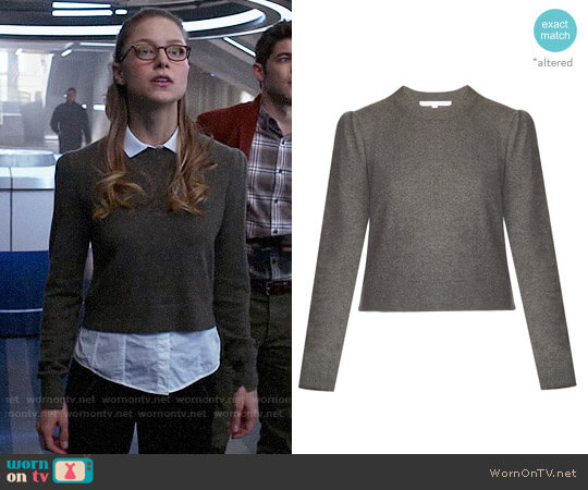 Veronica Beard Jensen Sweater worn by Kara Danvers (Melissa Benoist) on Supergirl