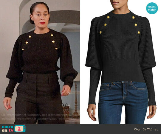 Veronica Beard Jude Sweater worn by Tracee Ellis Ross on Blackish