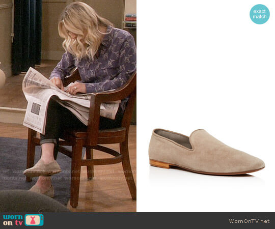 Vince Bray Loafers worn by Penny Hofstadter (Kaley Cuoco) on The Big Bang Theory