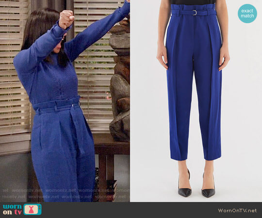 3.1 Phillip Lim Darted Pant worn by Rainbow Johnson (Tracee Ellis Ross) on Blackish