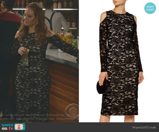 'Laila' Dress by Alice + Olivia worn by Vanessa Cellucci (Leah Remini) on Kevin Can Wait