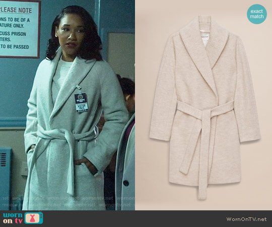 Babaton Manteau Sian Coat worn by Candice Patton on The Flash