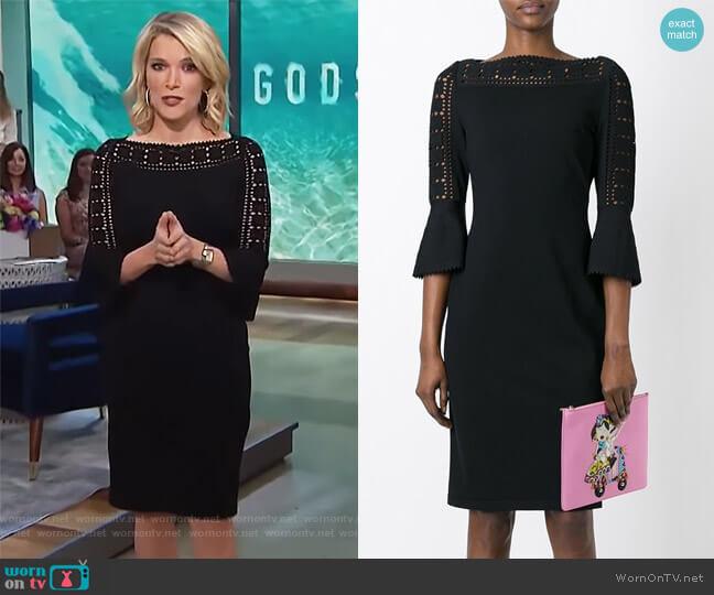 Geometric Lace Knit Dress by Fendi worn by Megyn Kelly  on Today