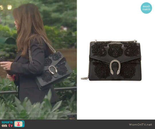 Dionysus Shoulder Bag by Gucci worn by Lisa Vanderpump on The Real Housewives of Beverly Hills