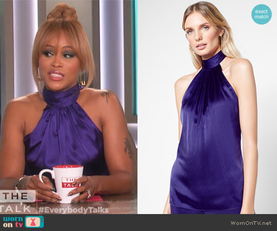 Paige Top by Ramy Brook worn by Eve on The Talk