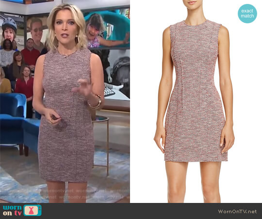 Hourglass K Beacon Tweed Dress by Theory worn by Megyn Kelly on Today