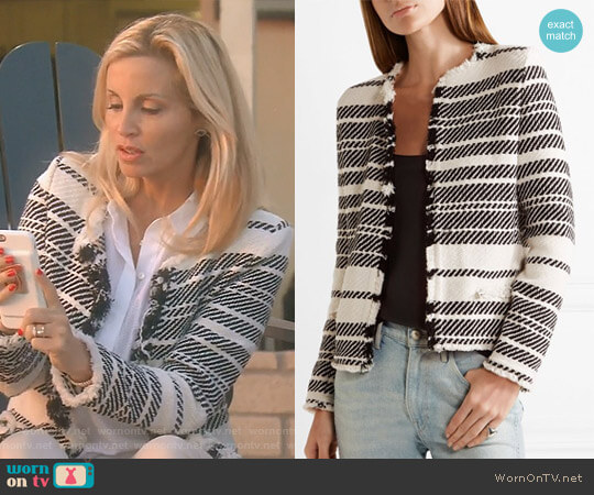 'Zlata' Jacket by Iro worn by Camille Grammer on The Real Housewives of Beverly Hills