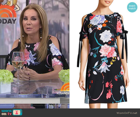 Zen Blossom Dress by Adrianna Papell worn by Kathie Lee Gifford on Today