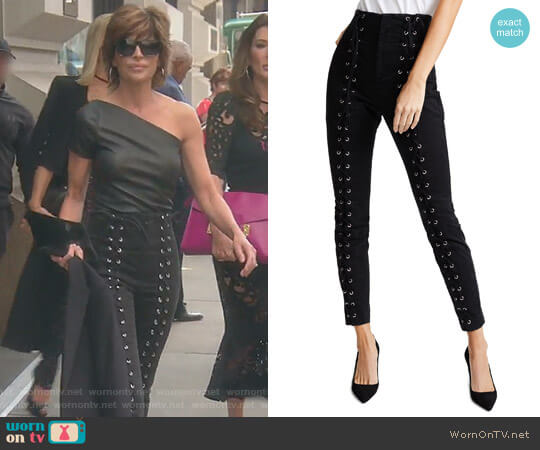 Kingsley Pants by ALC worn by Lisa Rinna on The Real Housewives of Beverly Hills