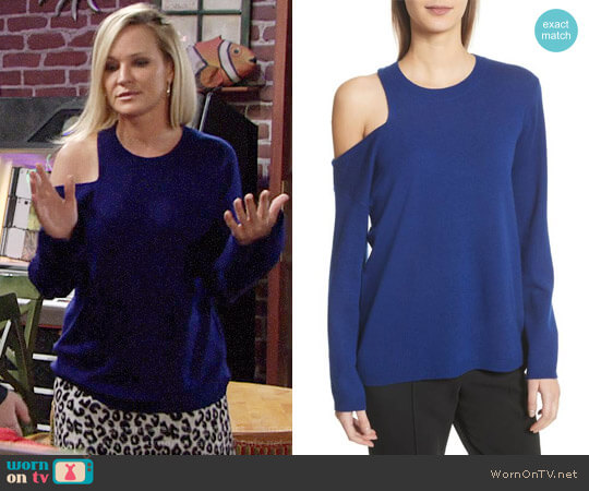 ALC Hamilton Sweater worn by Sharon Case on The Young & the Restless