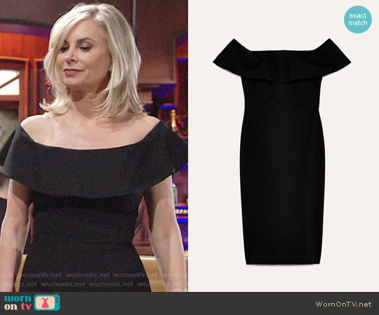Babaton Ruslan Dress worn by Ashley Abbott (Eileen Davidson) on The Young & the Restless