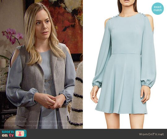 Bcbgmaxazria Bailey Dress worn by Hope Logan (Annika Noelle) on The Bold & the Beautiful