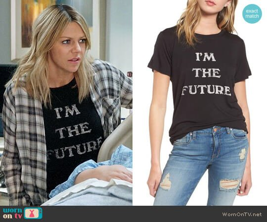 Daydreamer I'm the Future Graphic Tee worn by Mackenzie Murphy (Kaitlin Olson) on The Mick