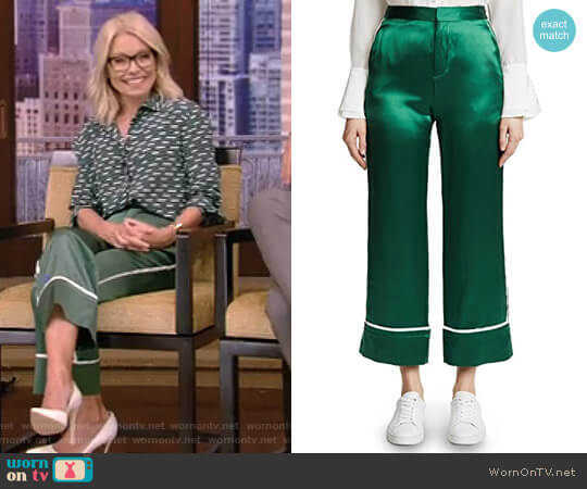 Pajama Pants by Edition 10 worn by Kelly Ripa on Live with Kelly & Ryan