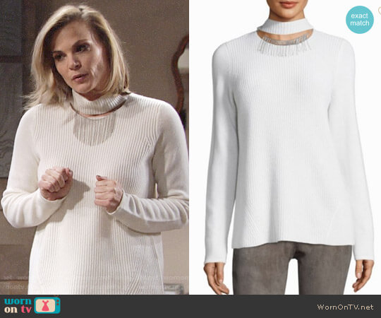 Elie Tahari Oz Sweater worn by Gina Tognoni on The Young & the Restless