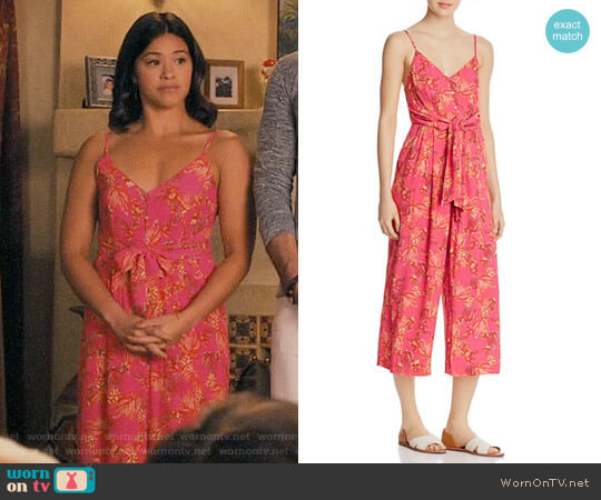 Free People Hot Tropics Jumpsuit worn by Gina Rodriguez on Jane the Virgin