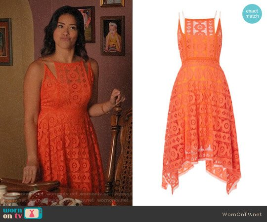 Free People Just Like Honey Dress worn by Jane Villanueva (Gina Rodriguez) on Jane the Virgin