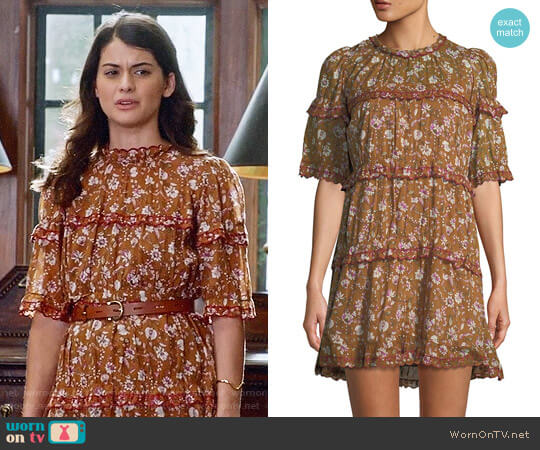 Isabel Marant Etoile Maiwenn Dress worn by Sabrina Pemberton (Sofia Black D'Elia) on The Mick