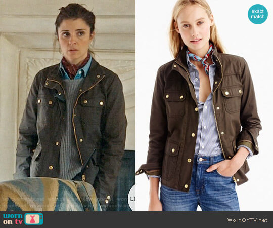 J. Crew Downtown Field Jacket worn by Shiri Appleby on UnReal