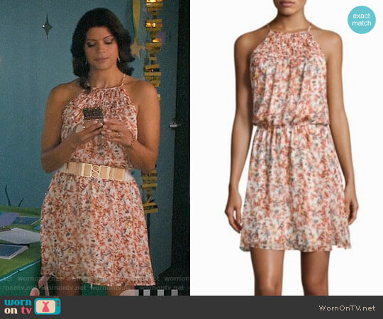 Joie Reinelde Dress worn by Andrea Navedo on Jane the Virgin