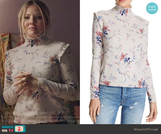Joie Robbia Sweater worn by Kaitlin Doubleday on Nashville
