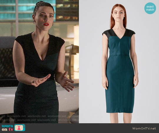 Judith & Charles Atlas Dress worn by Katie McGrath on Supergirl