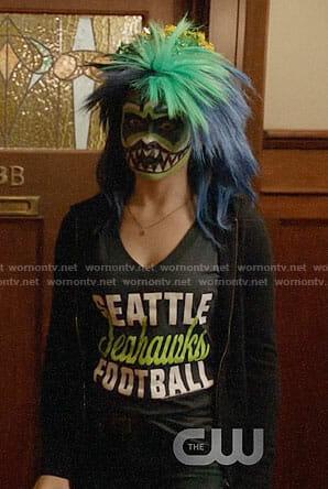 Liv's Seattle Seahawks Football tee on iZombie