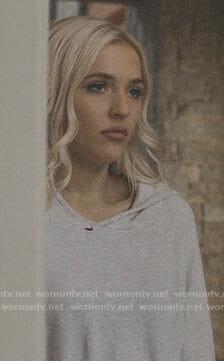 Maddie's grey hoodie on Nashville