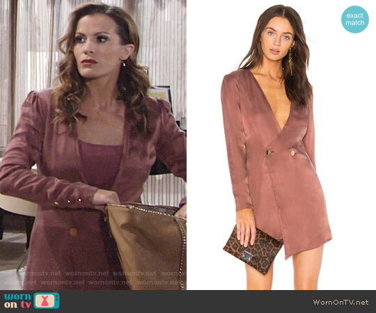 NBD Luke Dress worn by Melissa Claire Egan on The Young & the Restless
