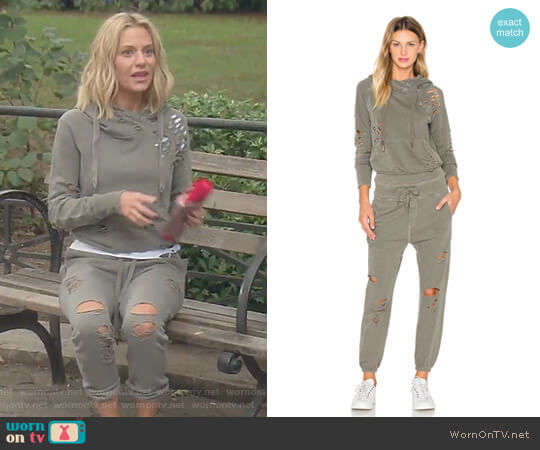 'Lisse' Hoodie and 'Sayde' Pants by NSF worn by Dorit Kemsley  on The Real Housewives of Beverly Hills